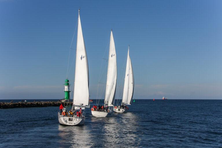 Cast off! Set Sails!